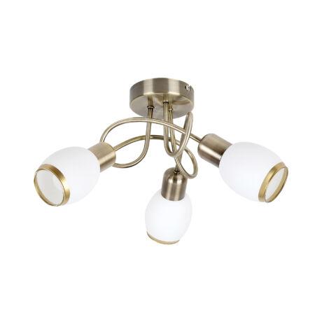 Elite spot lámpa klasszikus bronz E14x3 Rábalux 1098