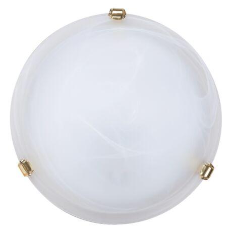 Alabastro mennyezeti lámpa arany körömmel D30cm Rábalux 3201 + ajándék izzó