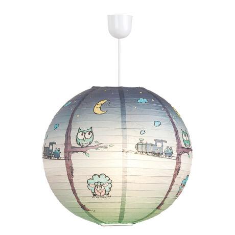 Shepherd gyerek rizs lámpa búra függeszték nélkül E27 Rábalux 4631