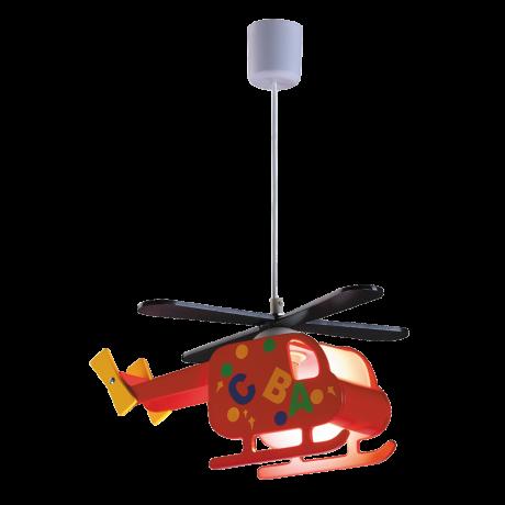Helicopter gyerek függeszték lámpatest L36cm Rábalux 4717