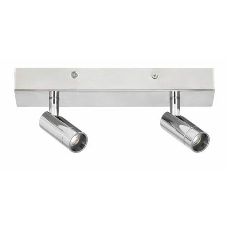 George LED fürdőszobai króm mennyezeti spot lámpa LED 2x 5,6W IP44 Rábalux 5494