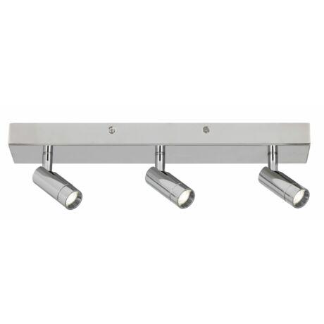 George LED fürdőszobai króm mennyezeti spot lámpa LED 3x5,6W IP44 Rábalux 5495