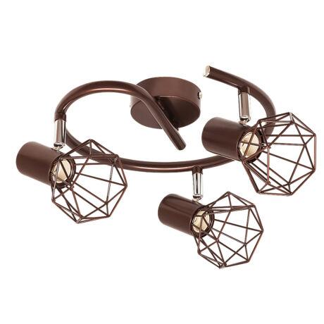 Odin vintage spot lámpatest 3xE14 Rábalux 6884