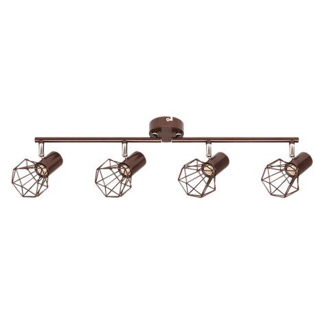 Odin vintage spot lámpatest 4xE14 Rábalux 6885
