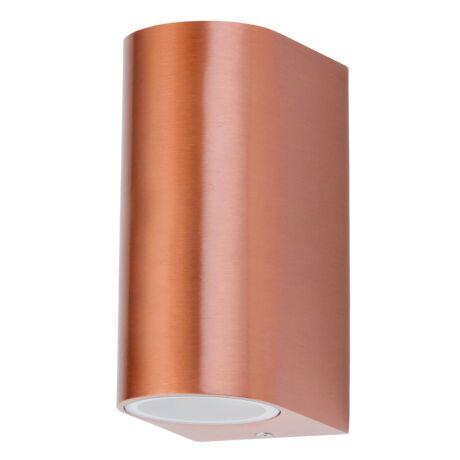 Chile kültéri fali lámpatest réz GU10 2X35W IP44 Rábalux 8100
