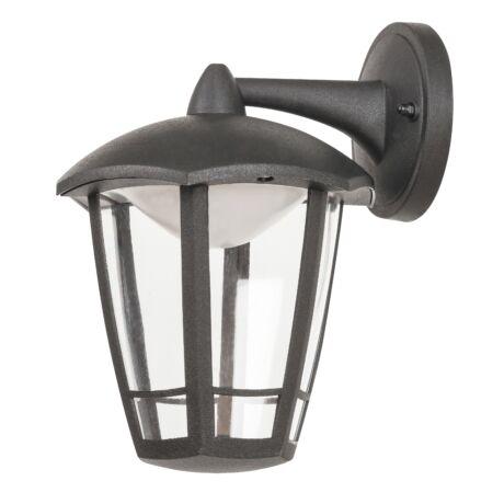 Sorrento kültéri LED 8W falikar fekete IP44 Rábalux 8125