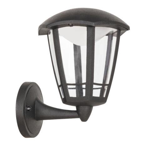Sorrento kültéri LED 8W falikar fekete IP44 Rábalux 8126