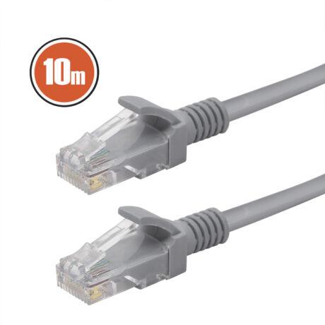 Szerelt vezeték UTP 8P/8C Cat.5e dugó - 8P/8C Cat.5e dugó 10m Patch kábel