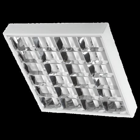 MLX dupla parabolatükrös 4x60cm LED fénycsőre előkészített falon kívüli armatúra lámpatest HL0012873