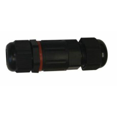 LED fényvető reflektorhoz kiegészítő kültéri vízzáró csatlakozó PA66 IP68 2x2.5 CSJ Greenlux GXSP001