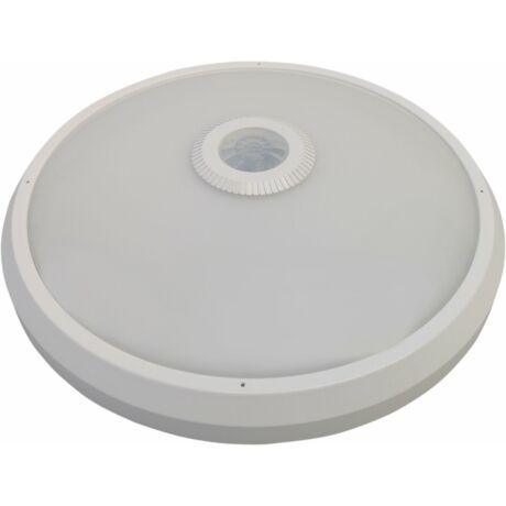 LED Mennyezeti lámpatest 16W 1150 Lm természetes fehér mozgásérzékelővel szerelve D30 IP54 MANA II Greenlux GXPS012