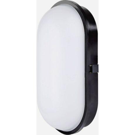LED Hajó 20W 1650 Lm por és páramentes vandálbiztos természetes fehér Lámpatest fekete IP68 IK08 DARA OVAL Greenlux GXPS027
