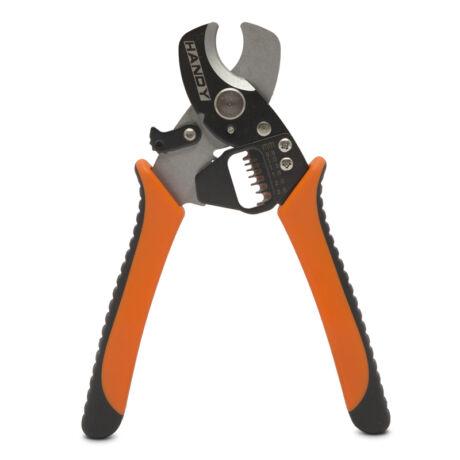 Handy vágó-és kábelblankoló fogó ergonómikus markolattal 2.6 - 5.2 mm 10128