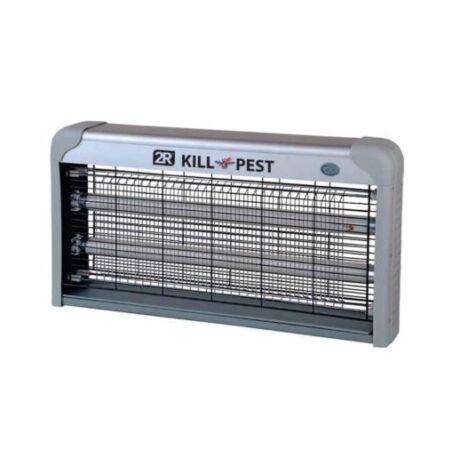 KILL PEST 2X15W elektromos rovarcsapda rovarölő lámpa