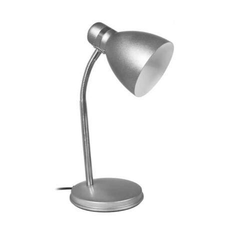 Kanlux Zara íróasztali lámpa E14 40W ezüst + ajándék izzó