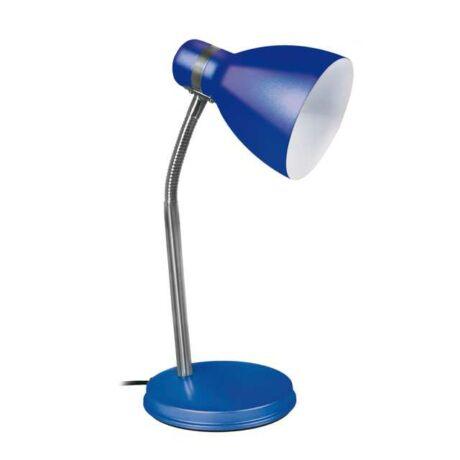 Kanlux Zara íróasztali lámpa 40W kék + ajándék izzó