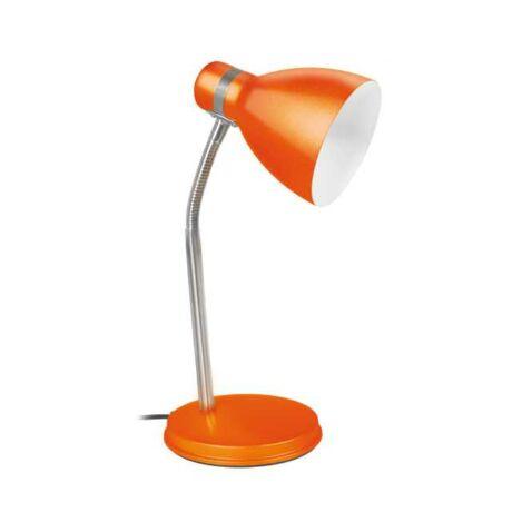 Kanlux Zara íróasztali lámpa 40W narancs + ajándék izzó