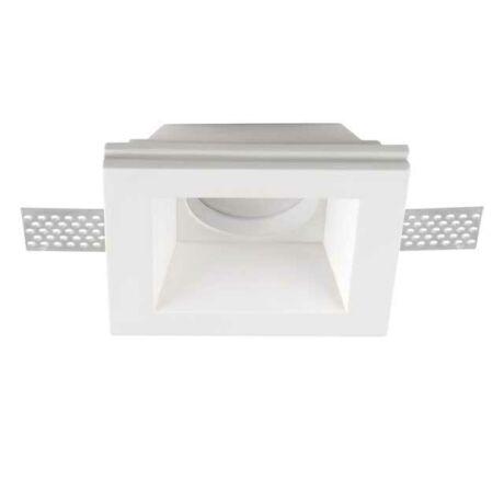 Kanlux IMOE gipszkartonba építhető spot lámpa max 35W szögletes 26071