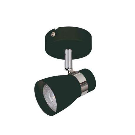Kanlux fekete Mennyezeti spot lámpa GU10 35W ENALI EL-1O B 28761