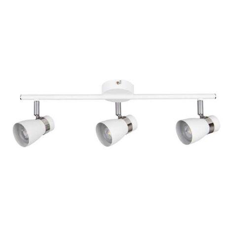 Kanlux fehér Mennyezeti spot lámpa GU10 3x35W ENALI EL-3I W 28766