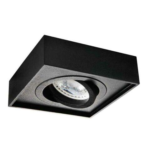 Kanlux Mini GORD mennyezeti lámpa fekete GU10 50W DLP-50-B 28781
