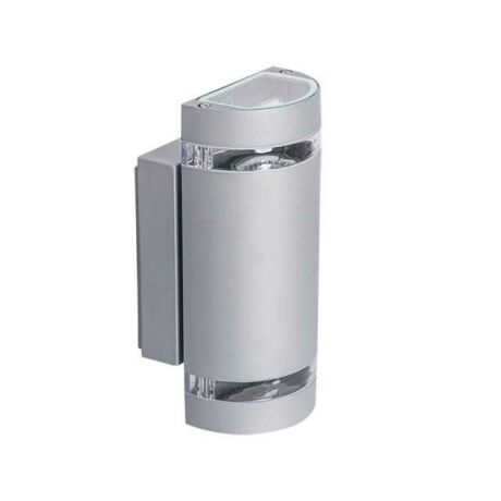 Kanlux kültéri fali szürke lámpa 2xGU10 IP44 ZEW 235U-GR 22443