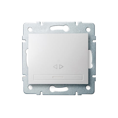 Kanlux DOMO 107 keresztkapcsoló keret nélkül fehér 24719
