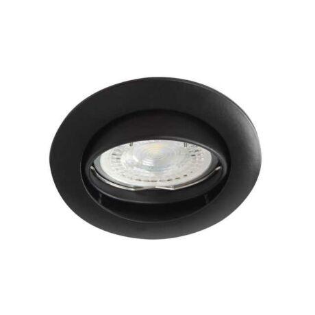 Kanlux beépíthető matt fekete billenthető csillogás mentes spot VIDI CTC-5515-B