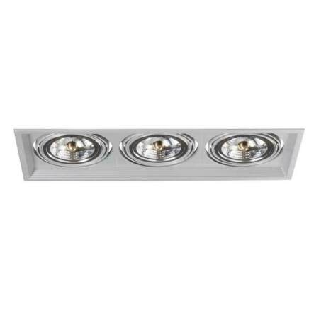 Kanlux ARTO 3L-SR  lámpa AR-111 ezüst lámpa 12V IP 20 Beltéri beépíthető mennyezeti lámpatest