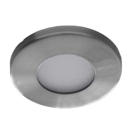 Kanlux álmennyezeti beépíthető spotlámpa szatén nikkel IP44 fürdőszobai lámpatest MARIN CT-S80-SN