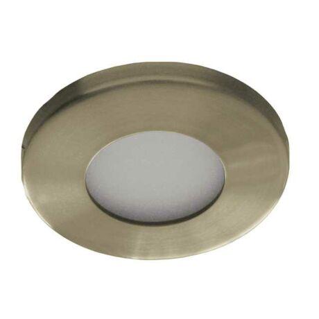 Kanlux álmennyezeti beépíthető spotlámpa antik IP44 fürdőszobai lámpatest MARIN CT-S80-AB
