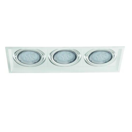 Kanlux ARTO 3L-W lámpa AR-111 fehér lámpa 12V IP 20 Beltéri beépíthető mennyezeti lámpatest