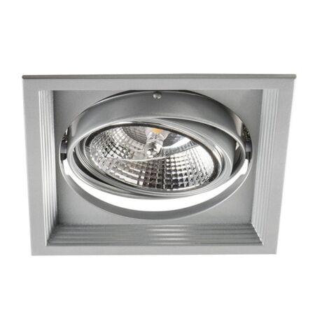 Kanlux ARTO 1O-SR ezüst lámpa AR-111 12V IP 20 Beltéri beépíthető mennyezeti lámpatest 26611