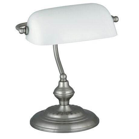 Bank íróasztali klasszikus E27 lámpatest Rábalux 4037