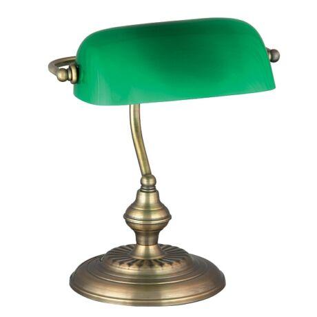 Bank íróasztali klasszikus E27 lámpatest Rábalux 4038