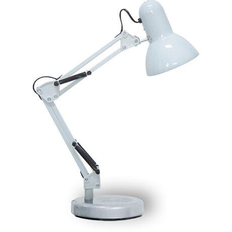 Samson fehér íróasztali lámpa H49cm Rábalux 4211