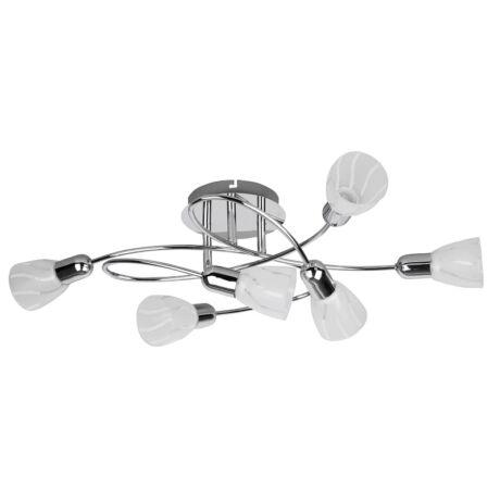 Flaire 6 ágú E14 mennyezeti lámpa Rábalux 6059
