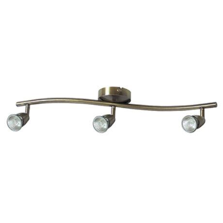 Norman mennyezeti bronz spot 3-as lámpatest Rábalux 5997