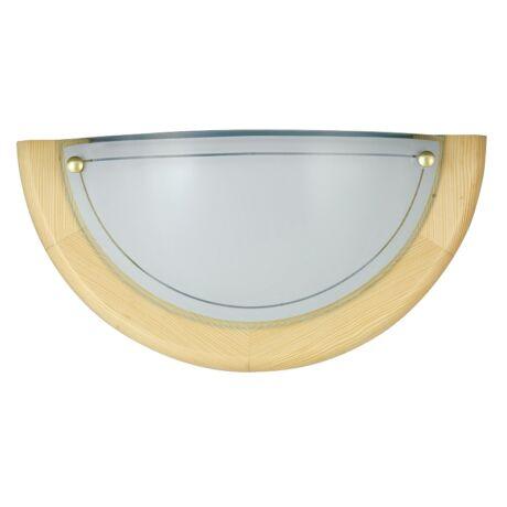 Ufo fali lámpa natur színben D30cm Rábalux 5401 + ajándék izzó