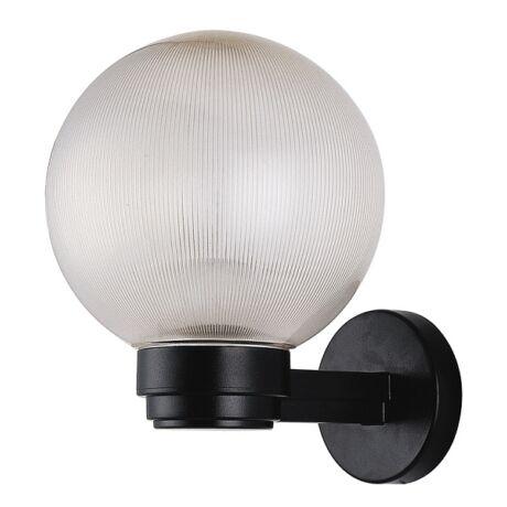 Palermo kültéri falikar műanyag búrás E27 IP44 lámpatest Rábalux 8389