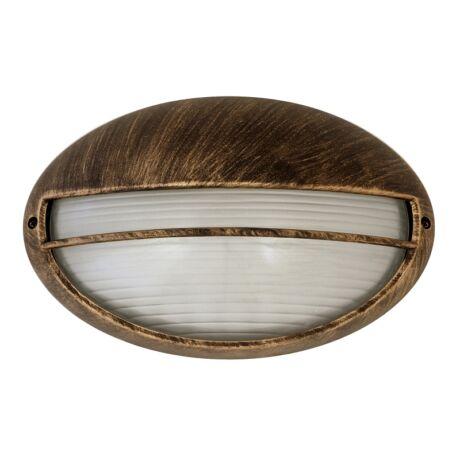 Hektor kültéri mennyezeti lámpa E27 arany ovális IP44 Rábalux 8496