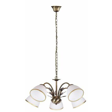 Aletta függeszték 5 ágú lámpatest 5XE14  Rábalux 2780