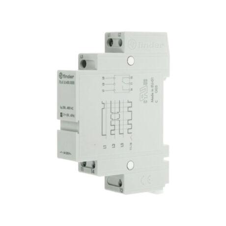 Finder 3 fázisú fázisfigyelő relé 400V AC