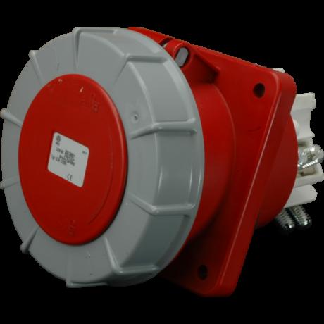 SEZ Beépíthető csatlakozóaljzat 400V 125A/5p IP67  IEGN 12553