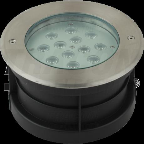 Tracon LED földbe taposólámpa 12W 840 lm 4500K természetes fehér süllyeszthető lámpatest LGL12W