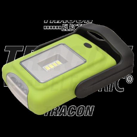 Tracon elemes LED kézi lámpa 2/0,5 W, 6000K, 3×AAA, 200/50lm STLE2W