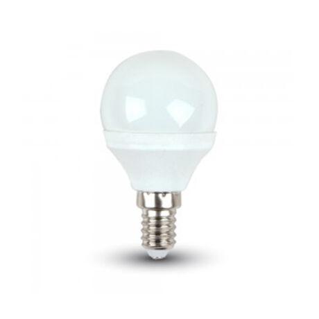Trixline LED lámpa izzó P45 kisgömb E14 6W 6500K hideg fehér 515 lumen