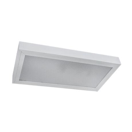 Elmark Prismatic mennyezeti lámpatest 2x9W LED fénycsővel 6400K hideg fehér 9PROME209LEDCW (Utolsó darabok!)