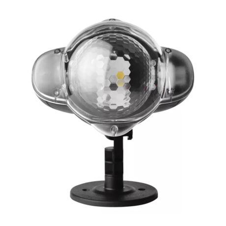 Emos hópihe karácsonyi LED projektor fehér IP44 ZY2192