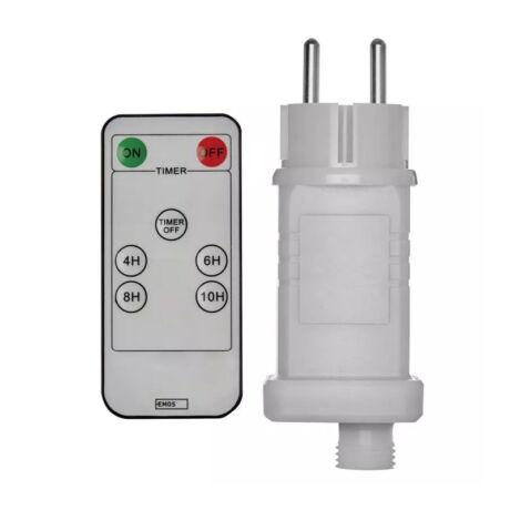 Emos CNT trafó adapter 12W időzítős távirányítóval ZY2300R